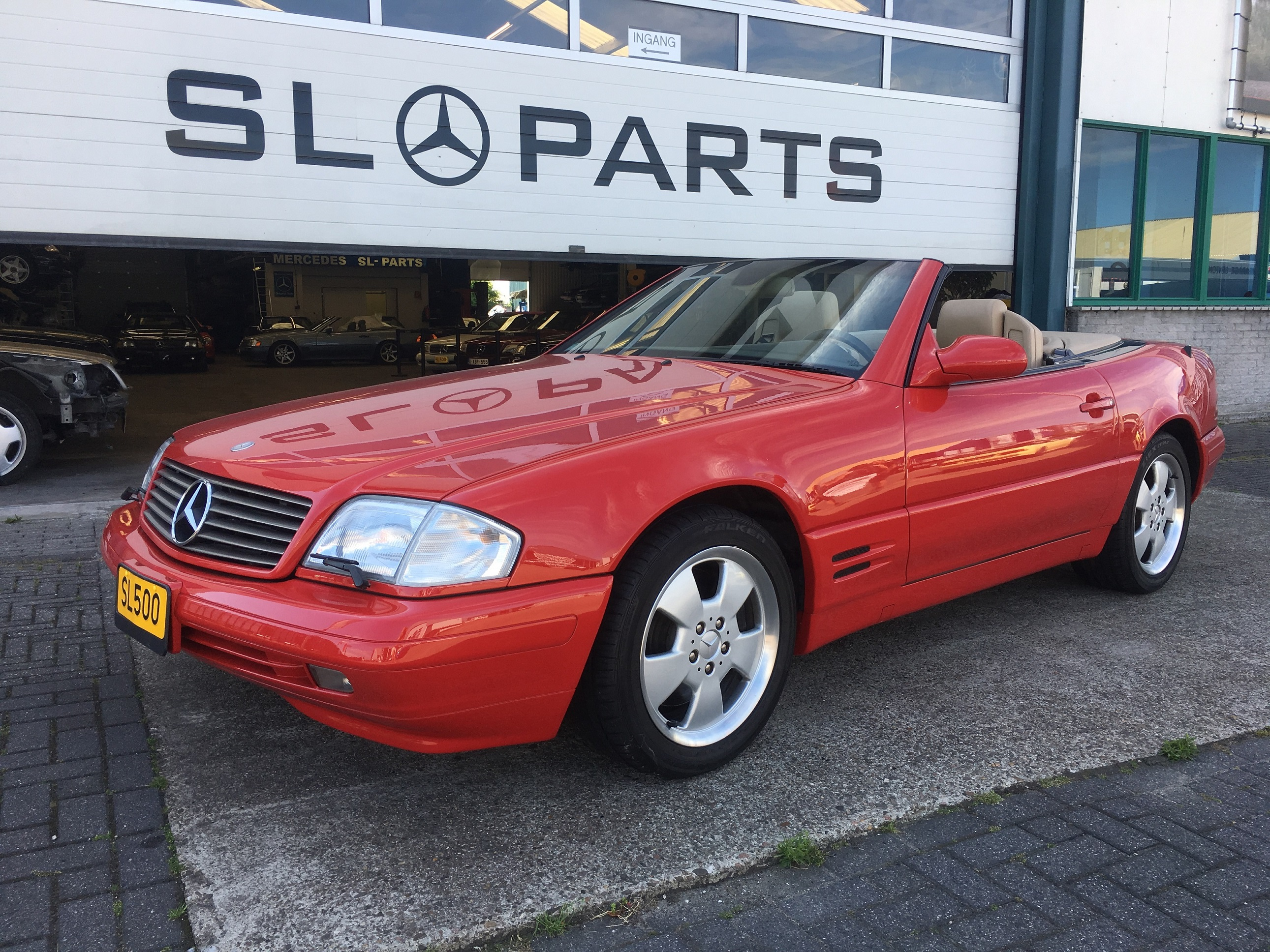 Mercedes benz sl 500 bouwjaar 2000 for Mercedes benz 950